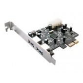 StarTech.com 2 Port PCI Express SuperSpeed USB 3.0 Card Adapter - USB adapter - 2 ports