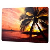 "Handstands Skinware 45004 Pre-Printed Notebook Skin - Add a Stylish Palm Sunset Pattern to Your 15.4"" Notebook!"