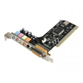 StarTech.com 5 Channel PCI Sound Adapter Card with AC97 3D Audio Effects - sound card