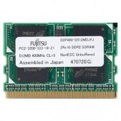 Micron 512MB DDR2 RAM PC2-3200 214-Pin Laptop MicroDIMM