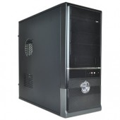 10-Bay ATX Mid Tower Computer Case w/500W 20+4-pin PSU (Black)