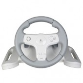 Logitech Speed Force Wireless Racing Wheel for Nintendo Wii