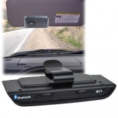 Bluetooth v2.0 Hands-Free Car Visor Kit w/Text to Speech