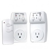 Remote Controlled Switch Socket - 2-Pack
