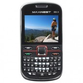 Maxwest BB-9 Unlocked Quad-Band GSM Dual SIM Wireless Handheld Device w/Camera Bluetooth FM Tuner QWERTY 2.2&quot;LCD (Black)