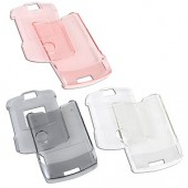 Samsonite CCRZ1 Crystal Cover Snap-On Case for Motorola Razr - 3-Pack (Transparent Black Pink & Clear)
