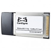 Cendyne 54Mbps 802.11g Wireless LAN Cardbus PCMCIA Adapter