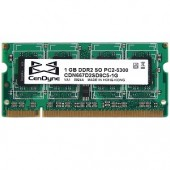 CenDyne 1GB DDR2 RAM PC2-5300 200-Pin Laptop SODIMM
