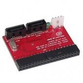 Bi-Directional IDE to SATA or SATA to IDE Adapter - Converts IDE Drives to SATA or SATA Drives to IDE!
