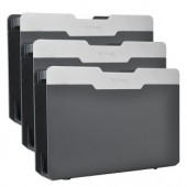 Fellowes Desk Additions 75260 3-in-1 Versatile File (Gray) - Stack Vertically Horizontally or Side-By-Side!