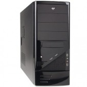 Logisys CS-206BK 10-Bay ATX Mid Tower Computer Case w/480W 20+4-pin PSU (Black)