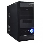 Logisys CS-301BK 10-Bay ATX Mid Tower Computer Case w/480W 20+4-pin PSU & 80mm Fan (Black)