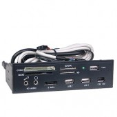 "5.25"" USB 2.0/FireWire/eSATA All-in-One MultiFunction Internal Card Reader"