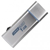 Dane-Elec 1GB USB MP3 Digital Music Player (Silver) - Use as a Flash Drive or MP3 Player!
