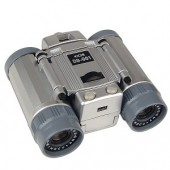 USB 4x28 Binoculars w/Built-In Digital Camera/Camcorder