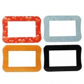 Interchangeable Fashion Faceplates for PhotoShare 7D Digital Photo Frame - 8 Different Designs!