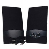 2-Piece Multimedia Speaker Set (Black)