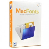 Macware MacFonts Software for Mac OS X - A Premier Collection of Over 1000 High Quality TrueType Fonts