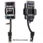 MediaGate i-Kit MG-IK5N1 FM Transmitter for iPhone 3G/iPod/ MP3 - Connect Your Portable Audio Device to the Car Stereo!