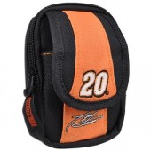 Merkury Innovations NASCAR Tony Stewart Camera Bag (Black/Orange) - Fits Most Digital Cameras!