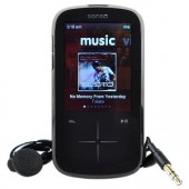 "SanDisk Sansa Fuze+ 8GB USB2.0 MP3 Digital Music/Video FM Player & Voice Recorder w/2.4""LCD slotRadio Card Support (Blk)"