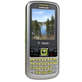 Samsung SGH-T349 2.2&quot; LCD Tri-Band GSM Bluetooth 1.3MP Camera Phone w/QWERTY Keyboard T-Mobile (Silver/Green)