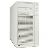 Dual Xeon 2.4GHz 1GB No HDD DVD FDD Server w/Video LAN GbLAN &amp; RAID - No Operating System