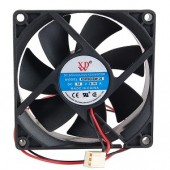 3&quot; x 3&quot; (80mm) XDW Case Fan w/3-Pin Connector (Black)